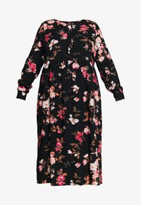 ZAY - YELMA DRESS - Abito a camicia - black - 4