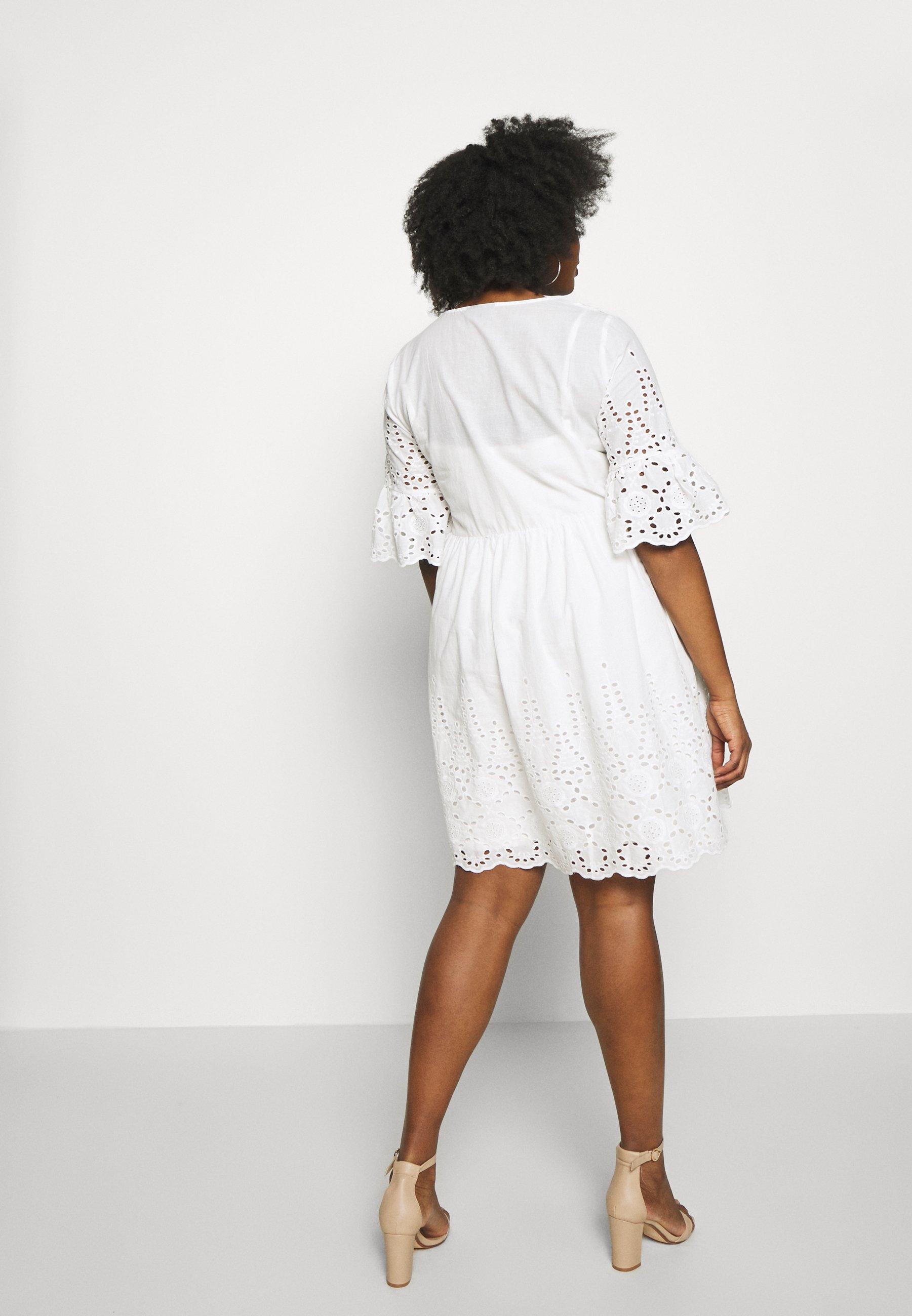 ZAY YEMBRA DRRESS - Sukienka letnia - bright white