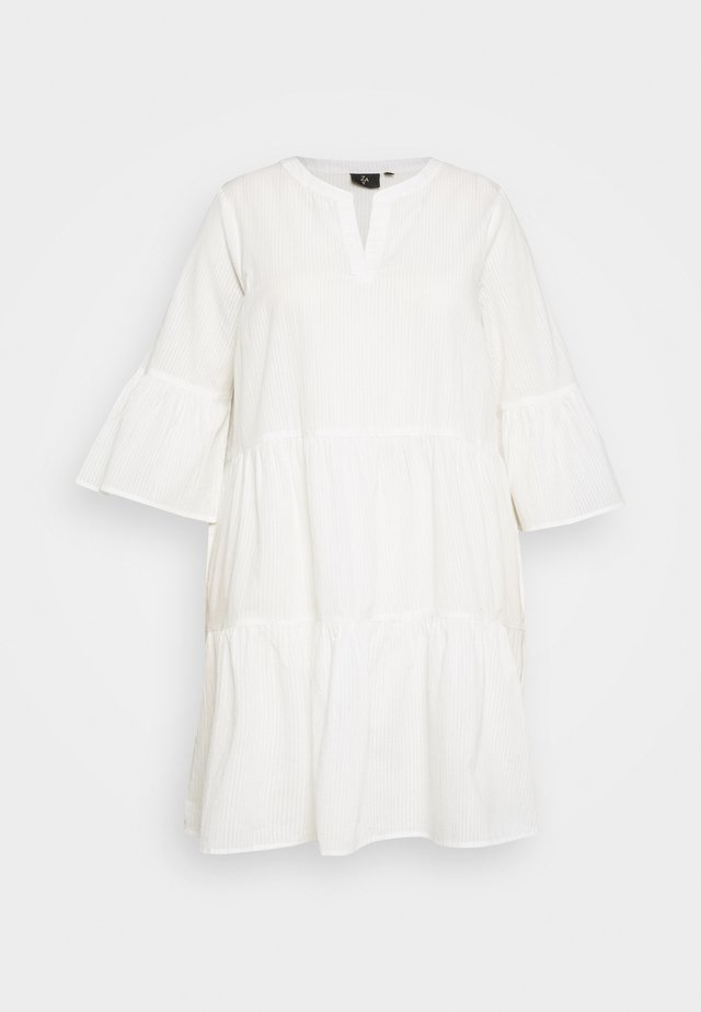 Korte jurk - bright white