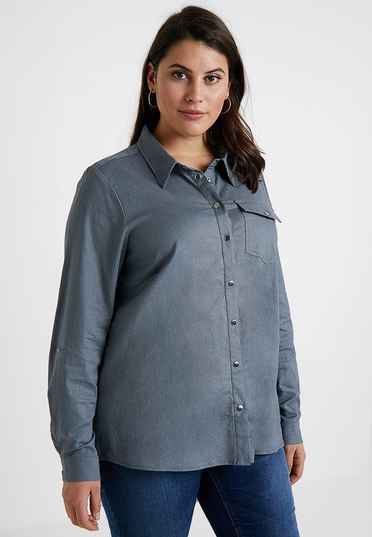 ZAY - Camisa - vintage indigo