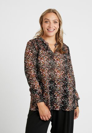 YLINE BLOUSE - Bluser - black