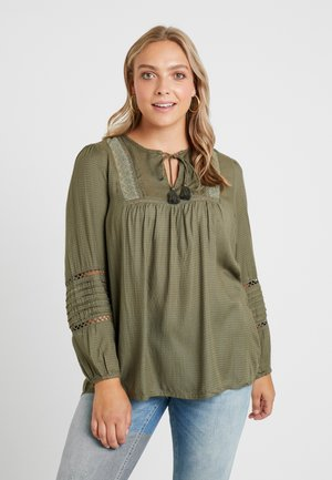 YLAMIS BLOUSE - Blouse - ivy green