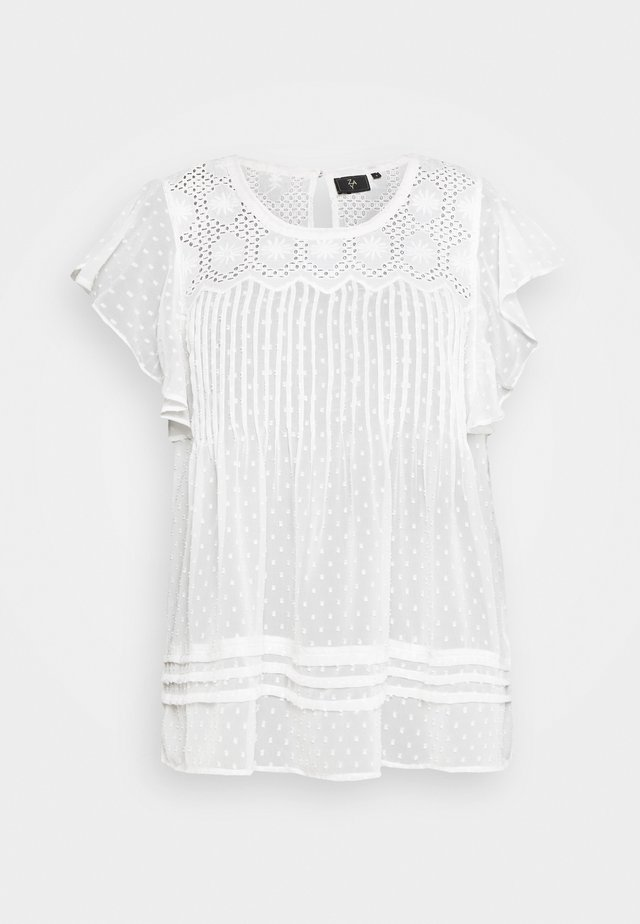 YFELONA - Bluse - bright white