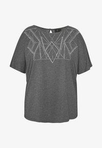 ZAY - YALVIRA - T-shirt print - light grey melange - 4