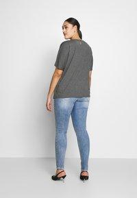 ZAY - YALVIRA - T-shirt print - light grey melange - 2