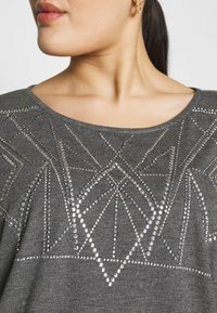 ZAY - YALVIRA - T-shirt print - light grey melange - 5
