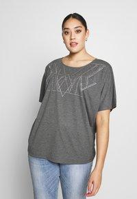 ZAY - YALVIRA - T-shirt print - light grey melange - 0
