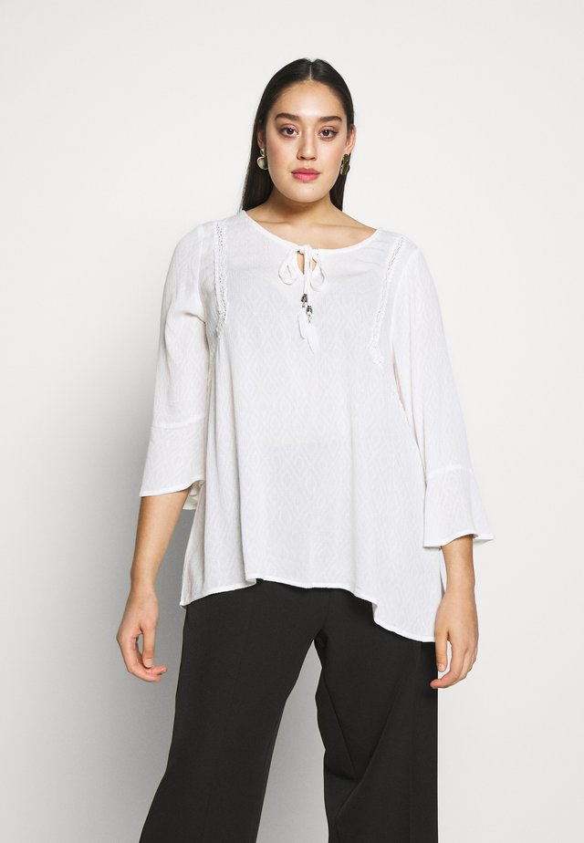YEMMI BLOUSE - Blus - bright white