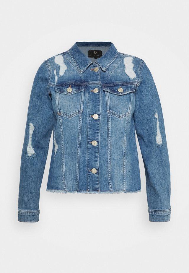 JACKET - Džínová bunda - light blue denim