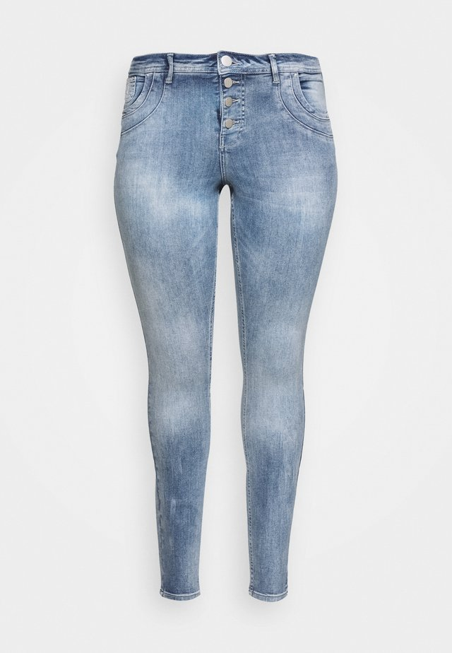 LONG - Jeans Skinny Fit - light blue denim