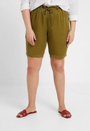 YCROCUS - Shorts - olive drab