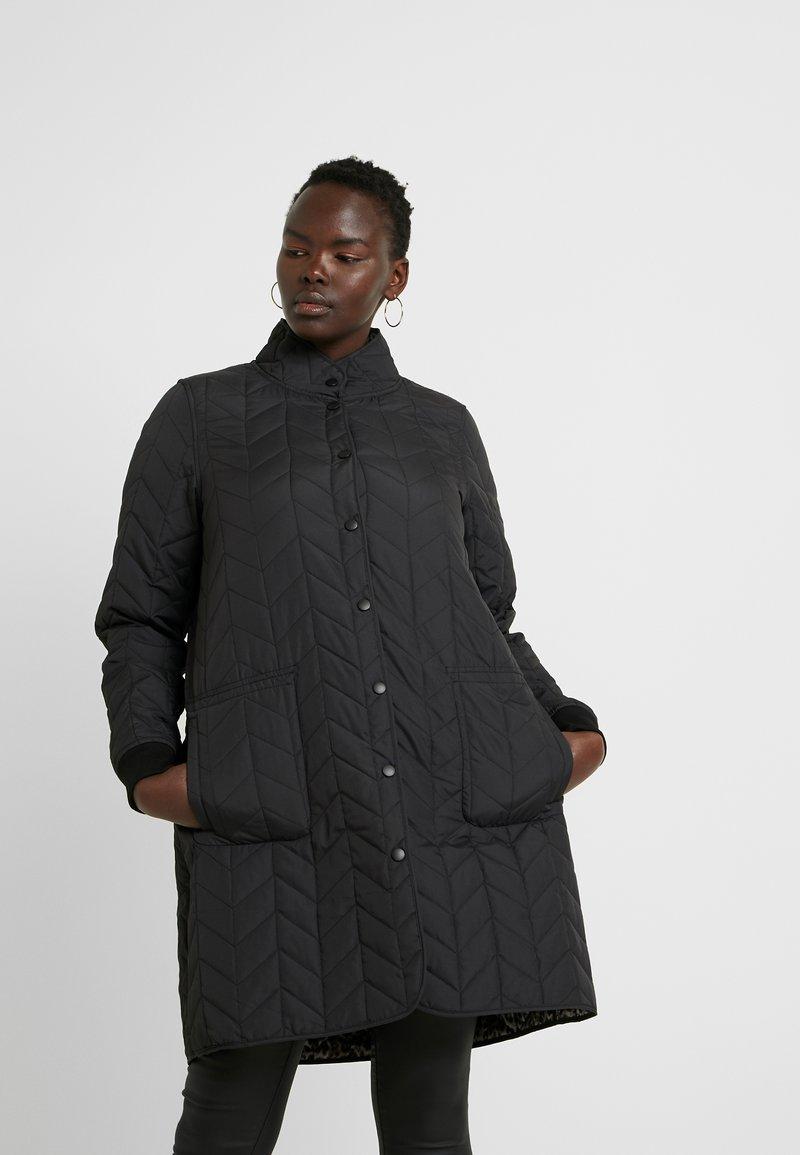 ZAY - YZITA COAT - Krátký kabát - black