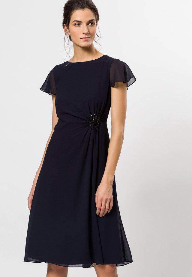 MIT SCHMUCKSTEINCHEN - Cocktail dress / Party dress - blue black