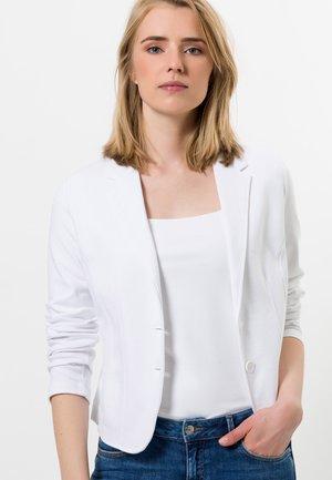 MIT STRETCHANTEIL - Blazer - white