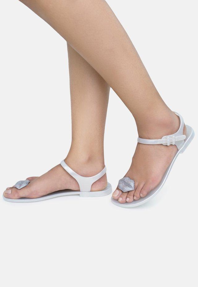 KISS - T-bar sandals - silver