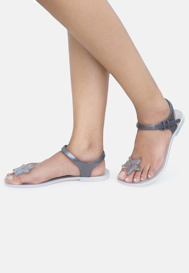 STAR - T-bar sandals - white