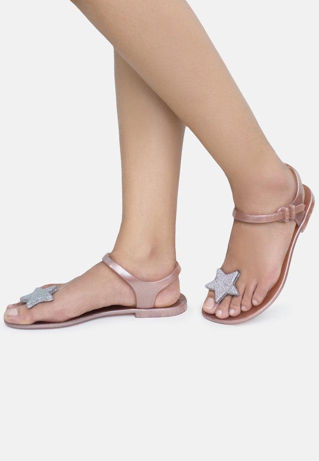 STAR - T-bar sandals - pink