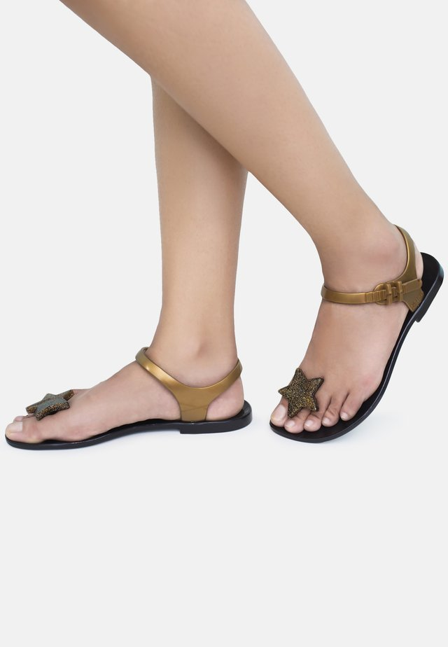 STAR - T-bar sandals - black