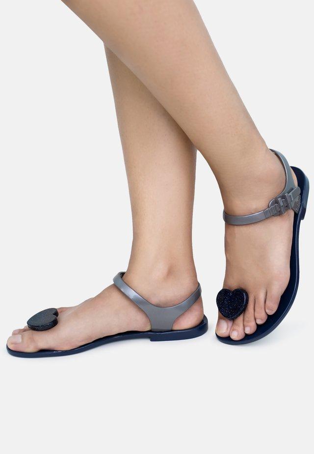 LOVER - T-bar sandals - blue