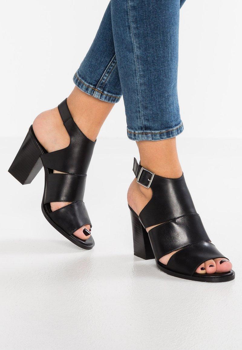 Zign - High Heel Sandalette - black