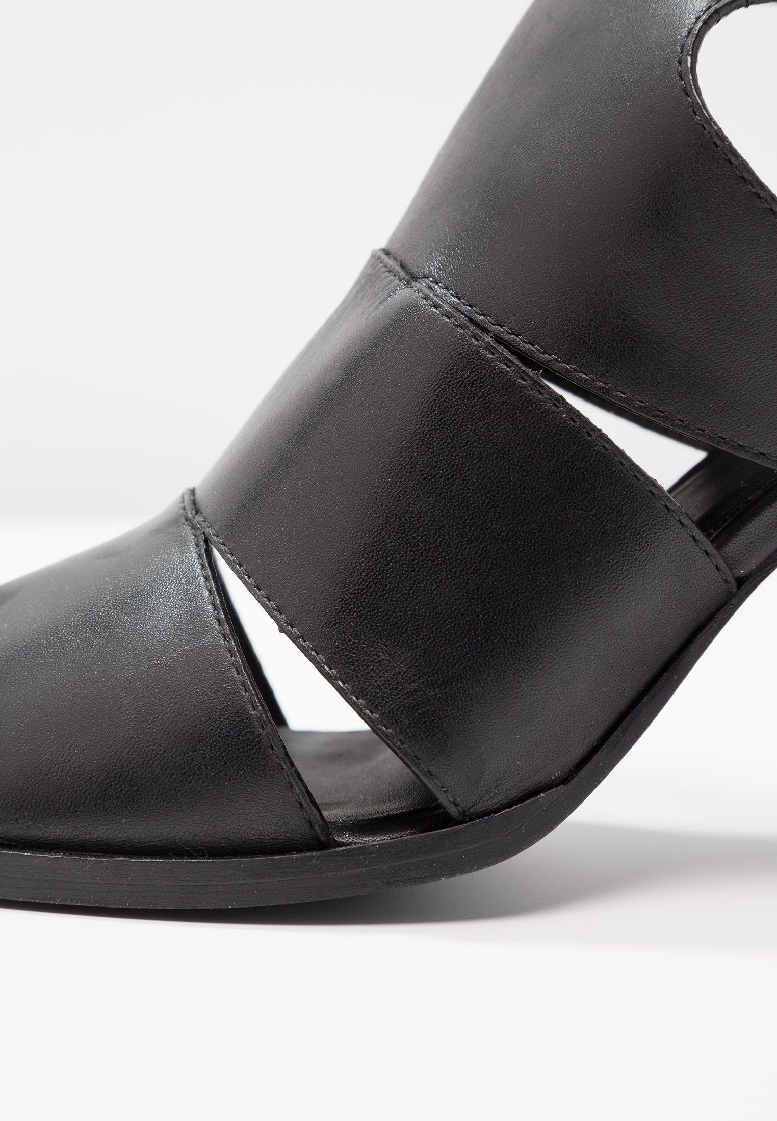 Zign Sandales à talons hauts - black