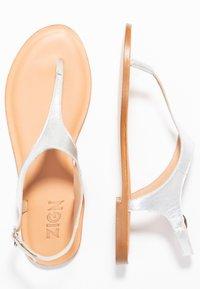 Zign - T-bar sandals - silver - 3