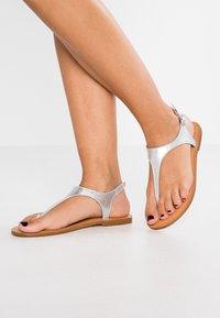 Zign - T-bar sandals - silver - 0