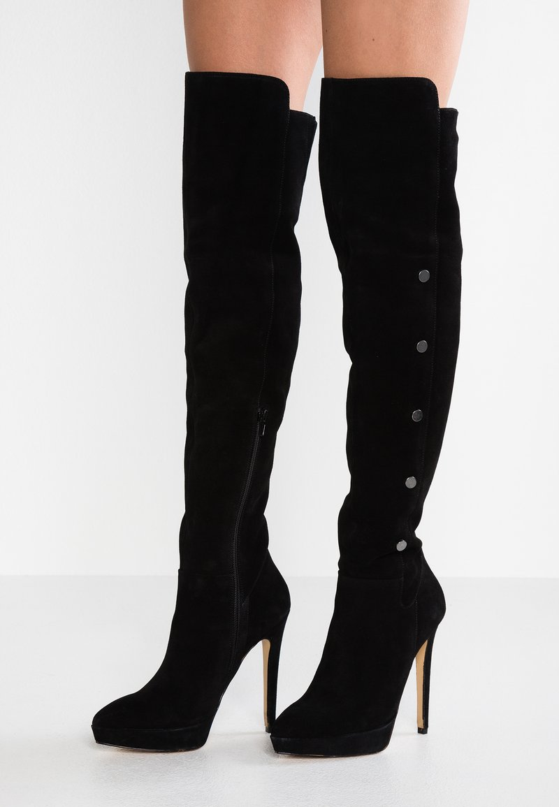 Zign - High heeled boots - black