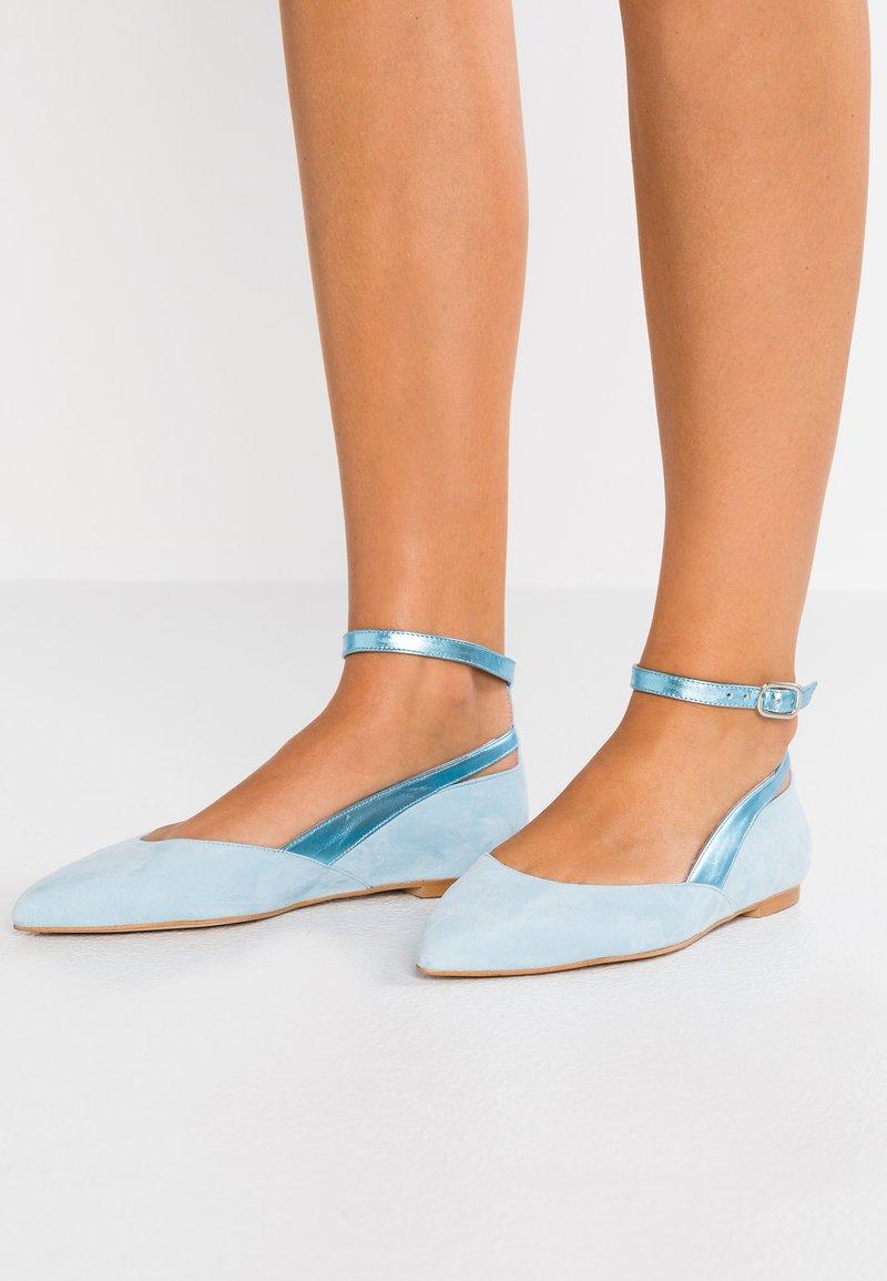 Zign - Ballerinasko m/ rem - blue