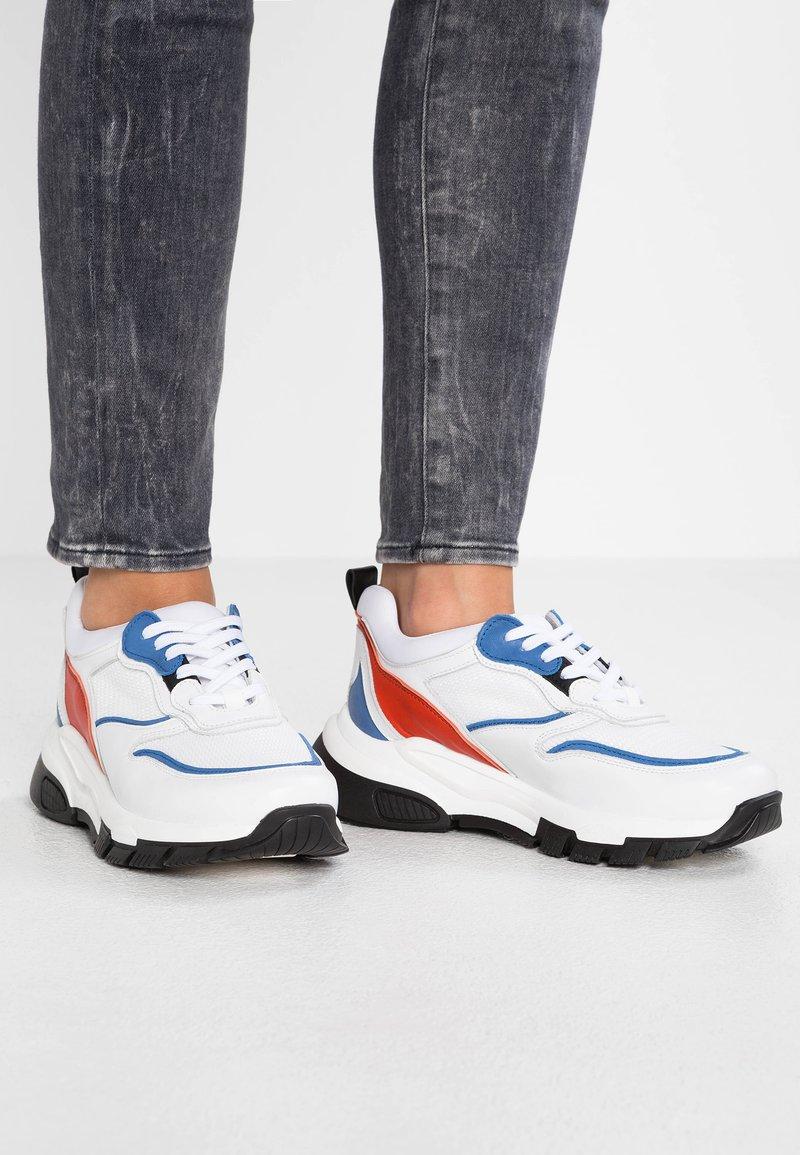 Zign - Sneaker low - white/blue
