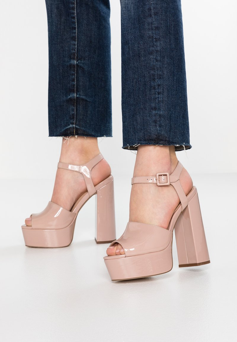 Zign - Korolliset sandaalit - nude