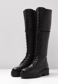 Zign - Høje støvler/ Støvler - black - 4
