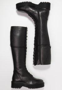 Zign - Høje støvler/ Støvler - black - 3