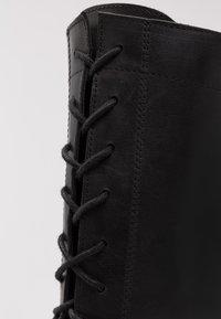Zign - Vysoká obuv - black - 2