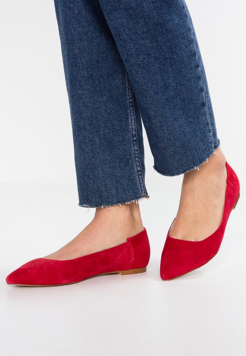 Zign - Ballet pumps - red