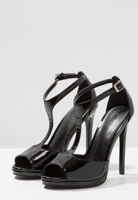 Zign - Korolliset sandaalit - black - 4