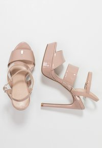 Zign - High heeled sandals - nude - 3
