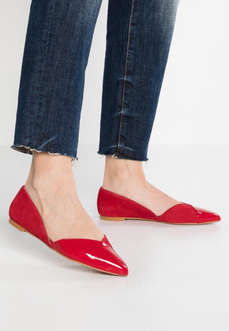 Zign - Ballerines - red