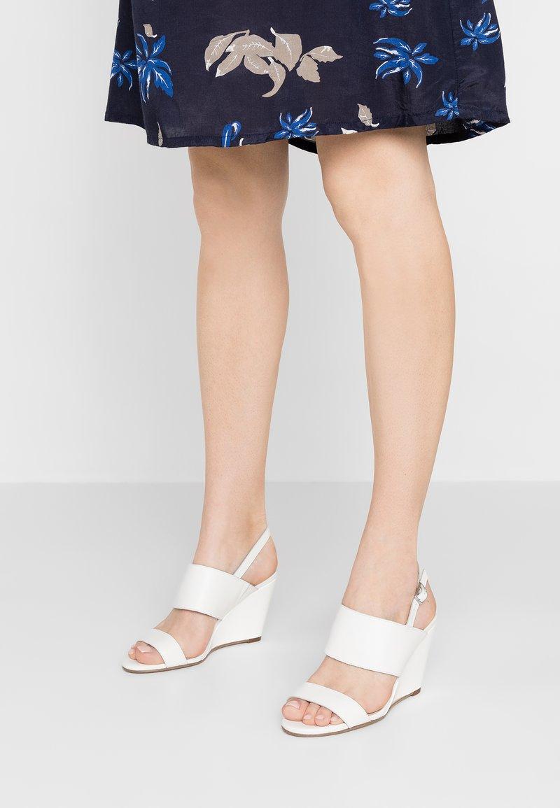 Zign - High Heel Sandalette - white
