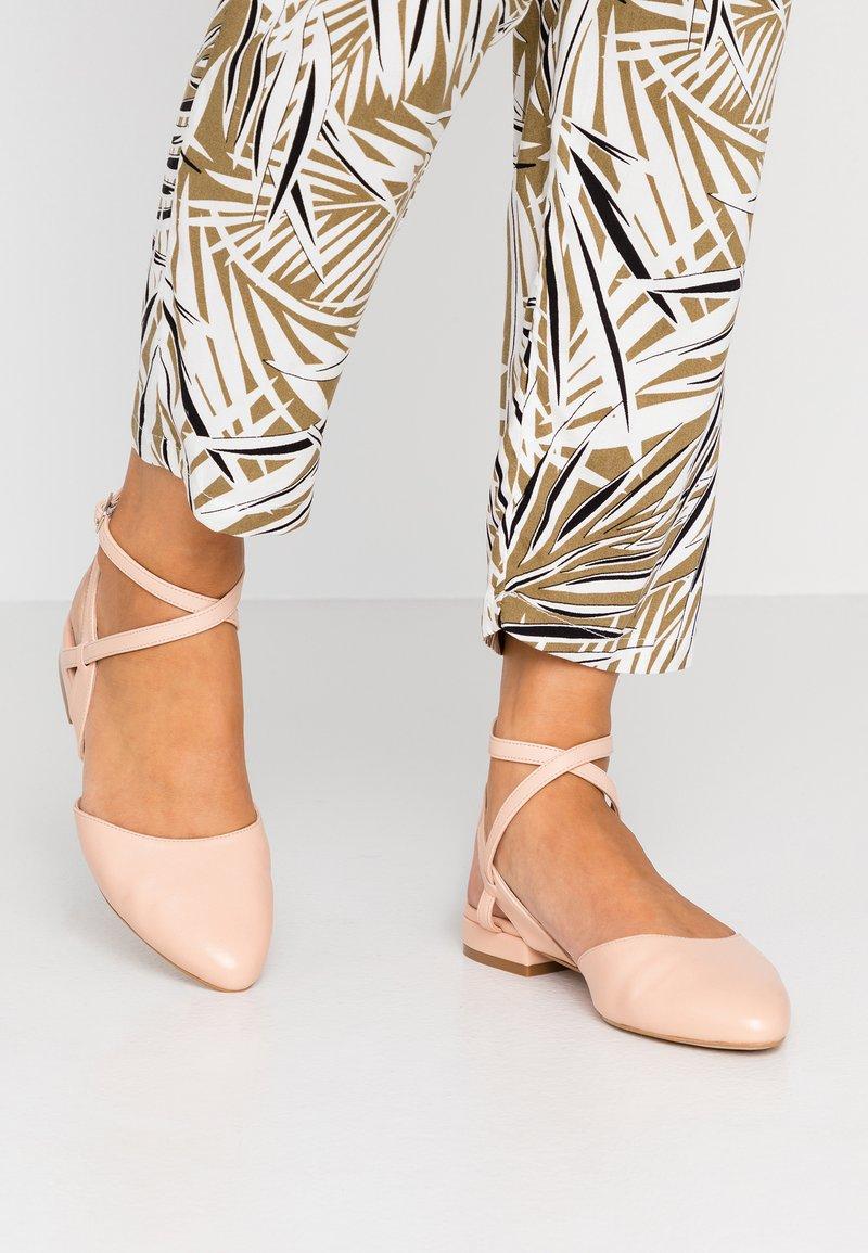 Zign - Slingback ballet pumps - nude
