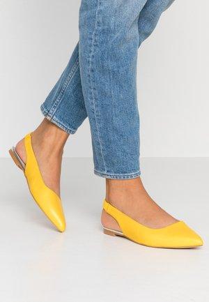 Ballerinat - yellow
