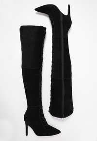 Zign - Overknees - black - 3