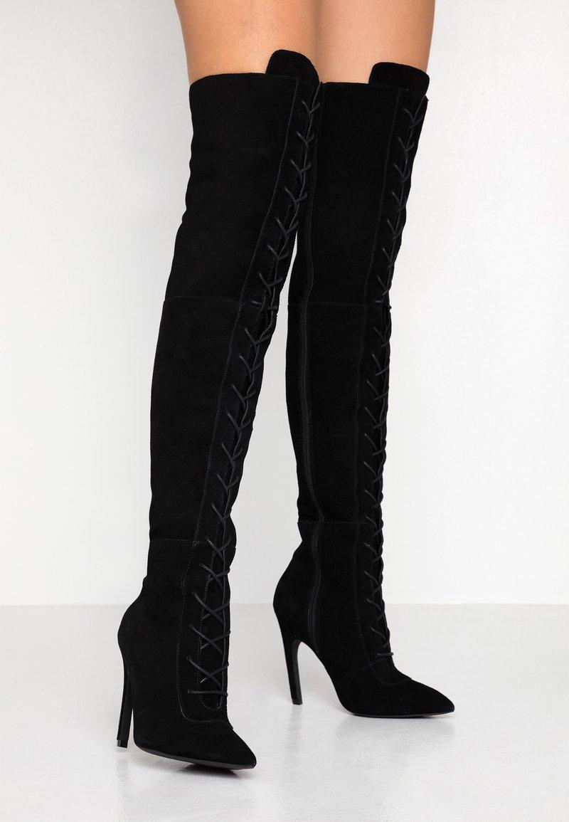 Zign - High heeled boots - black