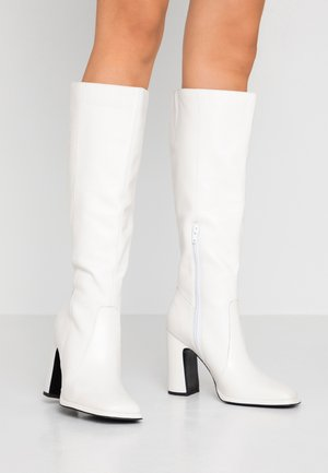 Stivali alti - white