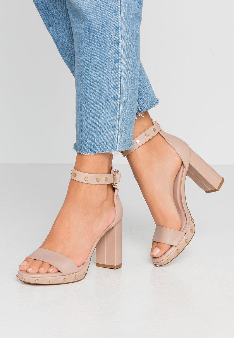 Zign - High heeled sandals - nude