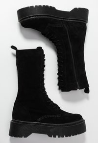 Zign - Platform boots - black - 3