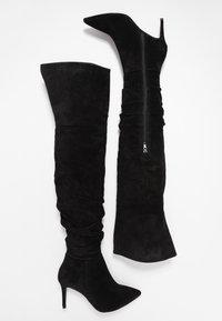 Zign - Boots med høye hæler - black - 3