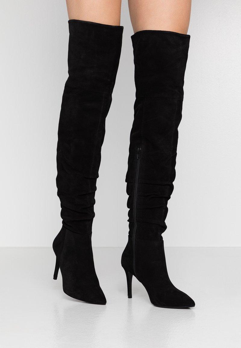 Zign - Boots med høye hæler - black