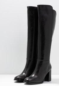 Zign - Vysoká obuv - black - 4