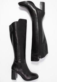 Zign - Vysoká obuv - black - 3